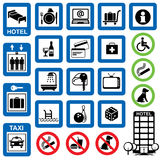 Icons hotel Royalty Free Stock Image