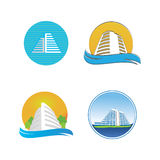 Icons for hotel Stock Photo