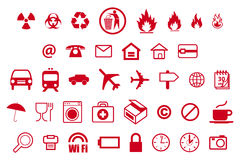 Icons - an icon for life Stock Images