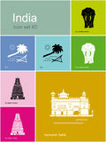 Icons of India Stock Image