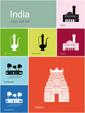 Icons of India Stock Images