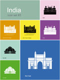Icons of India Stock Photography