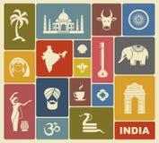 Icons of India Royalty Free Stock Photo