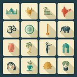 Icons of India Royalty Free Stock Image