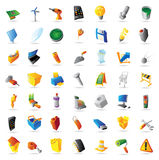 Icons for industry and computers Stock Photo