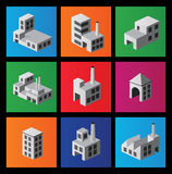 Icons isometric Royalty Free Stock Images