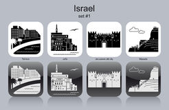 Icons of Israel Stock Image