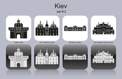 Icons of Kiev Stock Photo