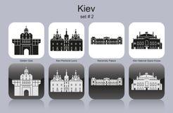 Icons of Kiev Stock Photo
