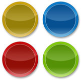 Icons, logos, buttons Stock Images