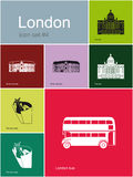 Icons of London Stock Photography