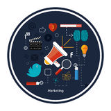 Icons for marketing Stock Images