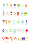 Icons medical Royalty Free Stock Photography