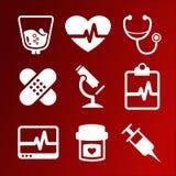Icons Medicine Stock Image