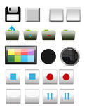 Icons Mix Stock Photography