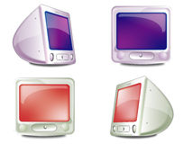 Icons monitor Stock Image