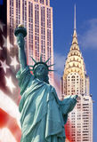 Icons of New York - USA Stock Photo