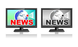 Icons news Royalty Free Stock Photography