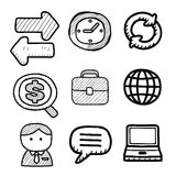 Icons Royalty Free Stock Photography