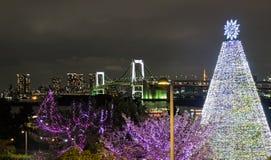 The Icons of Odaiba, Tokyo royalty free stock image