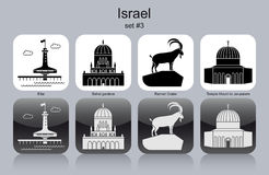 Free Icons Of Israel Royalty Free Stock Photo - 47444645