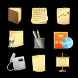 Icons for office Royalty Free Stock Photo