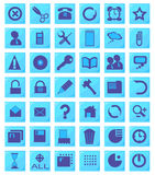 Icons, office (set1,part1) Royalty Free Stock Photos
