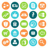 Icons online store Royalty Free Stock Photos