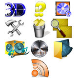 Icons. For the PC and phone Stock Images