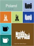 Icons of Poland Stock Image