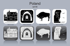 Icons of Poland Stock Photo