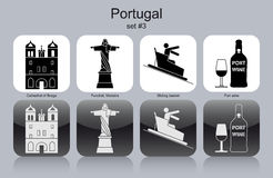 Icons of Portugal Stock Image