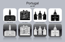 Icons of Portugal Royalty Free Stock Photo