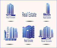 Icons Real Estate. Set of  icons Real Estate Royalty Free Stock Photo