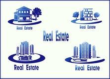 Icons Real Estate Royalty Free Stock Photos
