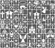 Icons religion Royalty Free Stock Photos