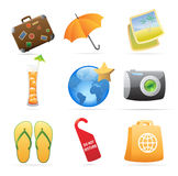 Icons for resort Stock Image