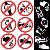 Icons_safety_04 Imagens de Stock Royalty Free