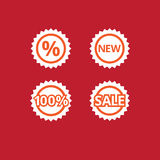 Icons sale Royalty Free Stock Images