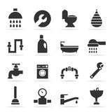 Icons sanitary technicians2 Stock Image