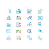 Icons set Royalty Free Stock Photo