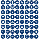 Icons set stock images