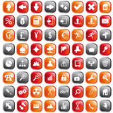 Icons set Stock Photography