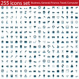 Icons set. Biggest collection of different icons for using in web design