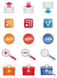 Icons_set Royalty Free Stock Photos