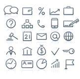 Icons set Royalty Free Stock Image