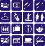 Icons set. Stock Photos