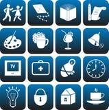 Icons set. Royalty Free Stock Image