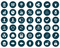 Icons set royalty free stock images