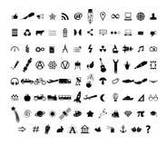Icons Set Stock Photos